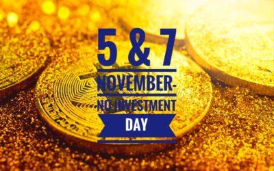 День 8: Безденежные дни — 5 и 7 ноября